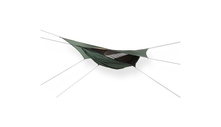 Hennessy Hammock Expedition Zip Green